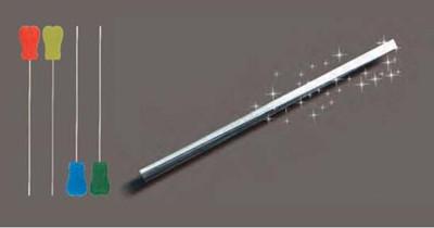 Flat head needle